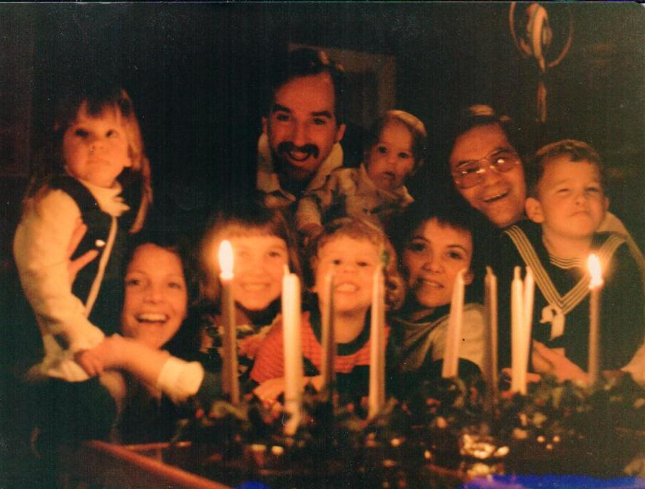 1985 - A Yates / Bell advent celebration