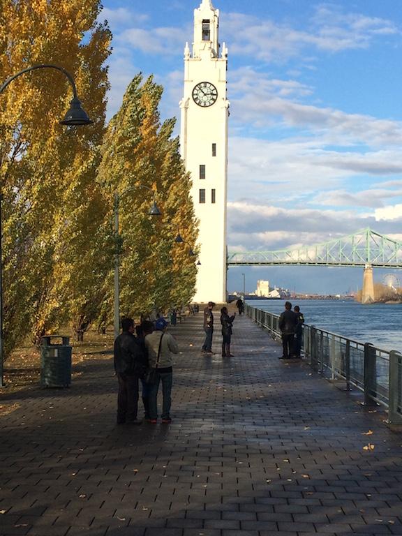 clocktower in Vieux Port de Montréal