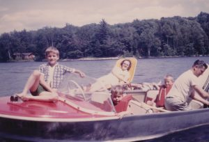 first boat with 33 HP Johnson & Detweiler family