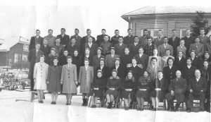 some of Kitchener bible school January 1948 students
